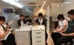 豊中市 ますだ歯科医院 ミーティング風景